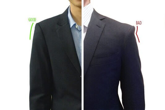 how to make a suit jacket look smaller